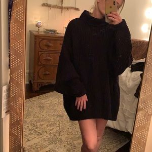 Free people oversized sweater tunic